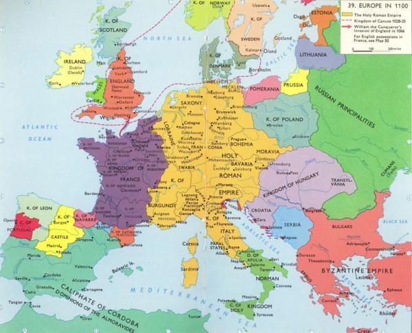 Europe_1100_AD
