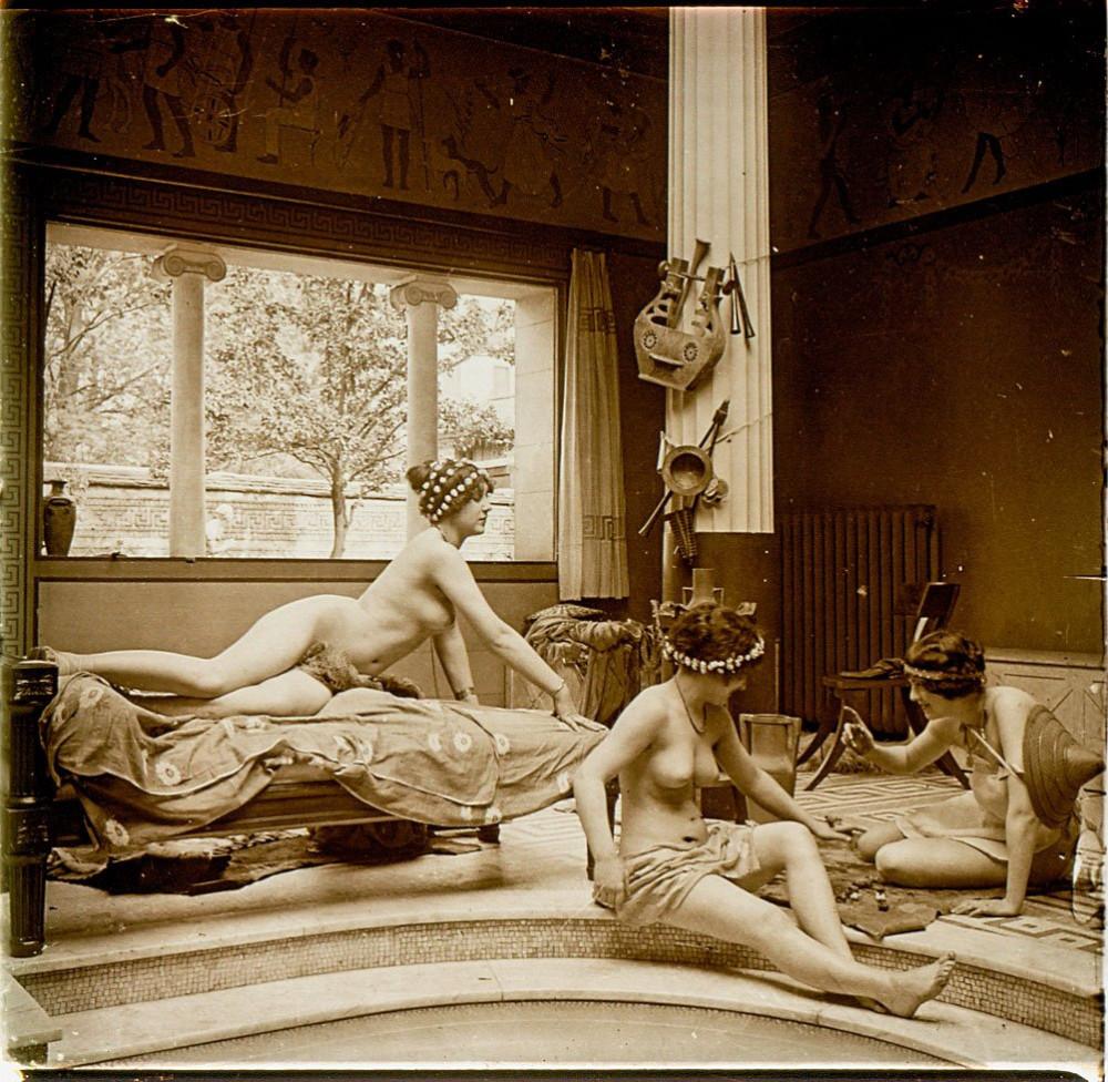 Парижские нимфы франция и ее история