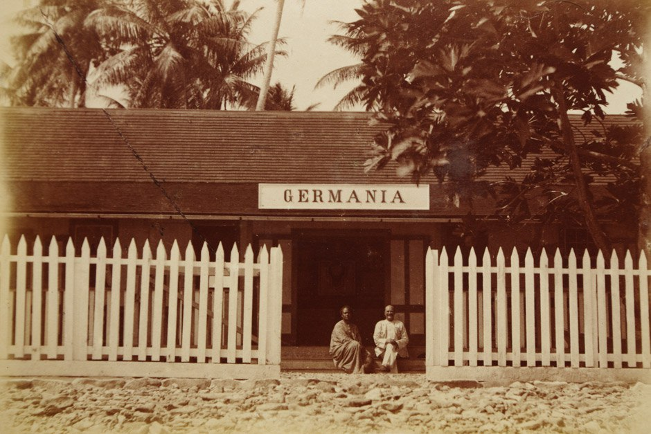 Пятничное Германское Самоа колониализм