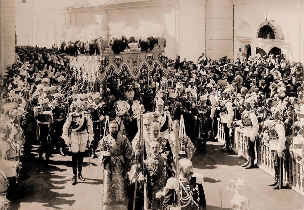 Коронация Николая и Александры