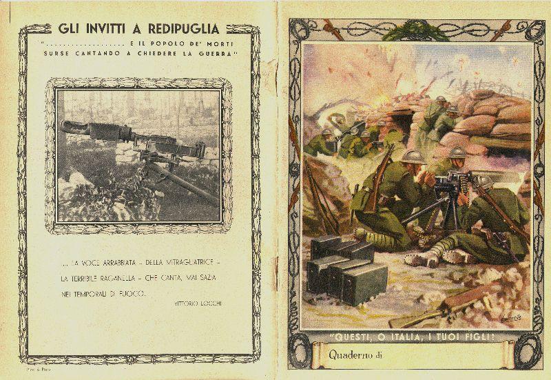 """Школьные принадлежности в """"эпоху Муссолини"""" Италия и ее история,Рисунки,20 век,Фото"""