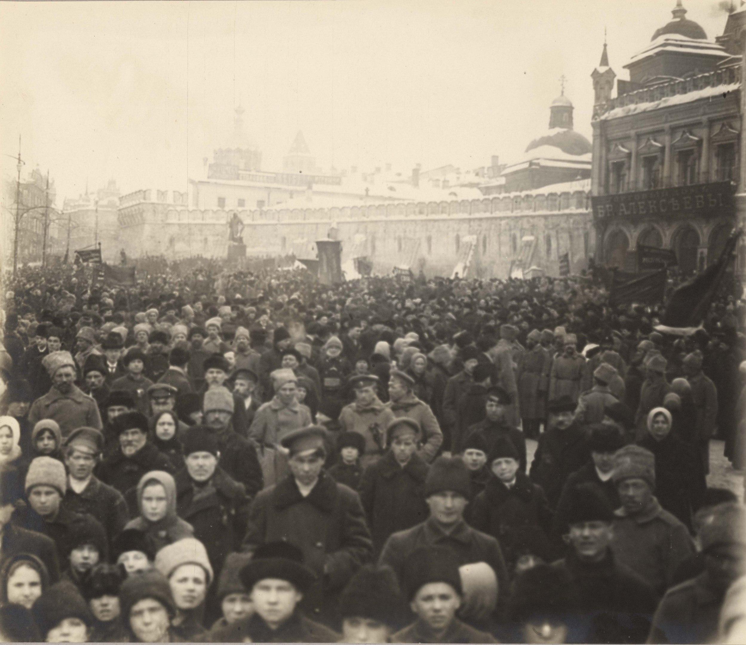 февральская революция картинки