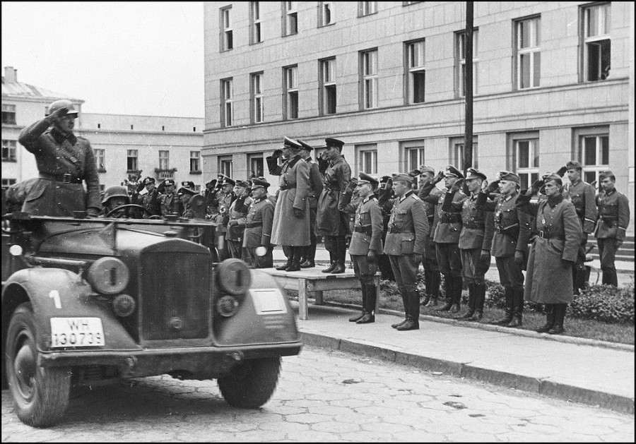 German–Soviet military parade in Brest-Litovsk 22