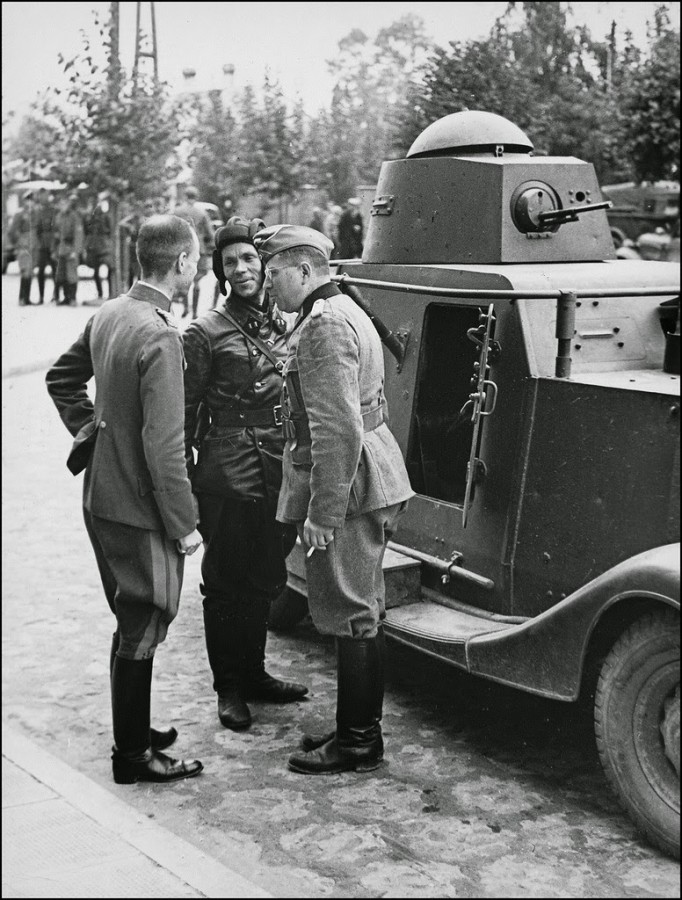 German–Soviet military parade in Brest-Litovsk 88