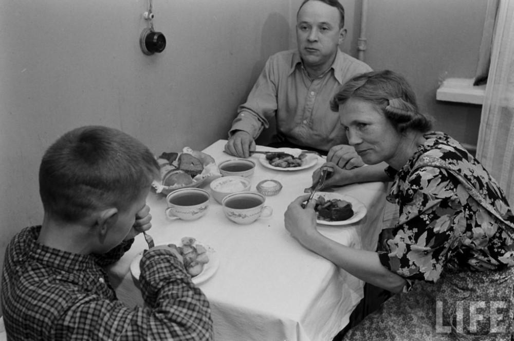 Обычная рабочая семья
