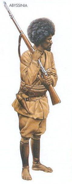Abyssinia - 1941, Ethiopia, Private, Abyssinian Patriot Army