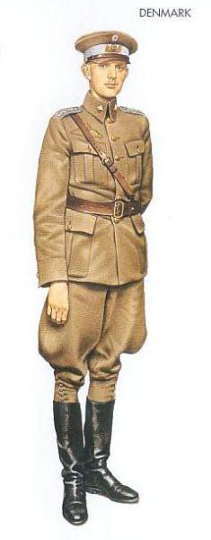 Denmark - 1940 Jan., Denmark, 1st Lieutenant, Reconnaissance Unit, Danish AF
