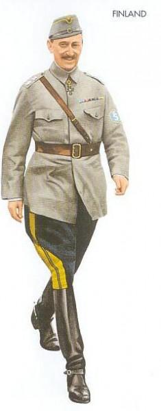 Finland - 1939 Sep., Helsinki, Marshal Mannerheim, Finnish Army