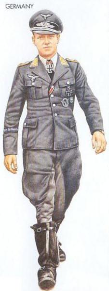 Germany - 1940 Sep., Pas de Calais, Lieutenant, Jagdgeschwader 26