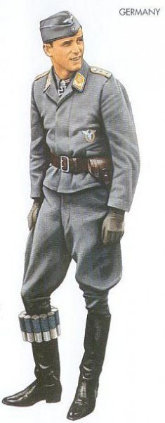 Germany - 1942 Mar., Ukraine, Captain, Luftwaffe Fighter unit