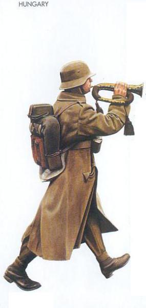 Hungary - 1942 Nov., Southern USSR, Infantryman, Rifle Brigade