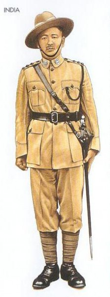 India - 1942 June, Burma, Subedar-Major, 20th Burma Rifles