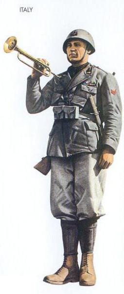 Italy - 1940 Jan., Sicily, Corporal, Milizia Volontaria Per La Sicurezza