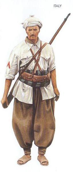 Italy - 1942 Jan., North Africa, Corporal, Gruppi Sahariana
