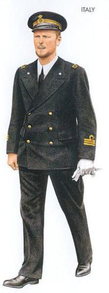 Italy - 1942 June, Mediterranean Sea, Ranking Lieutenant, Taranto Command