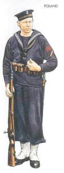 Poland - 1939 Sep., Poland, Able Seaman, Marynarka Wojenna