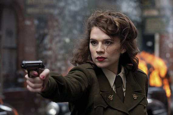 How Hayley Atwell Became Aged Peggy Carter For Captain America Tws Ohnotheydidnt Livejournal