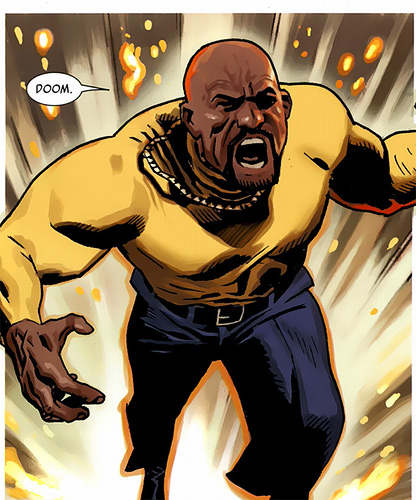 they started straight up tracing his face for luke cage it was shameless
