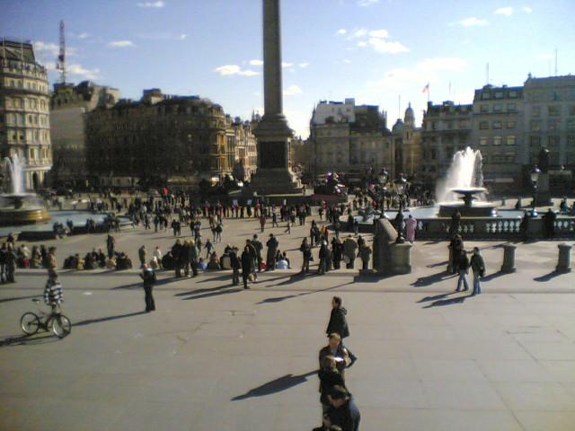 Day 5 - Trafalgar Square, SW1