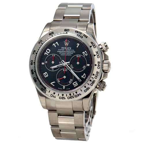 ROLEX DAYTONA OYSTER PERPETUAL COSMOGRAPH MENS WATCH 116509