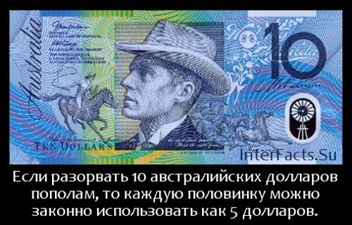 австралийский доллар интересный факт