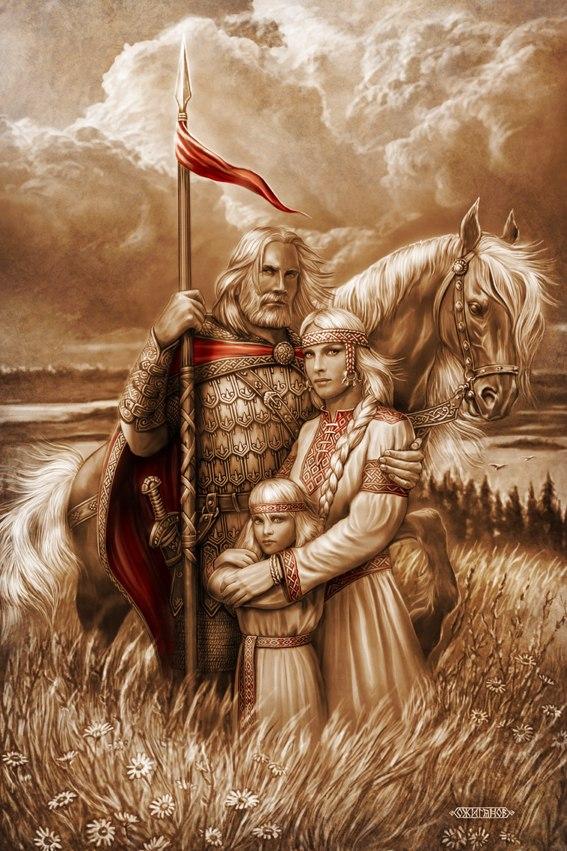 Художник Андрей Алексеевич Шишкин.Славянские Боги и славянская Русь.