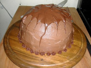 Chocolate Bomb Cake 4
