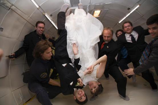 свадьба-в-невесомости