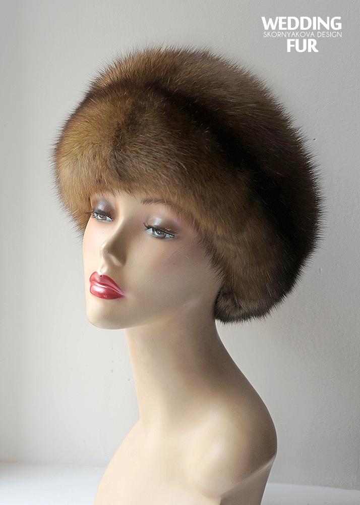 шапки из соболя женские фото