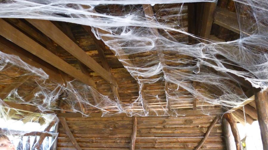 Как сделать паутину в домашних условиях 18
