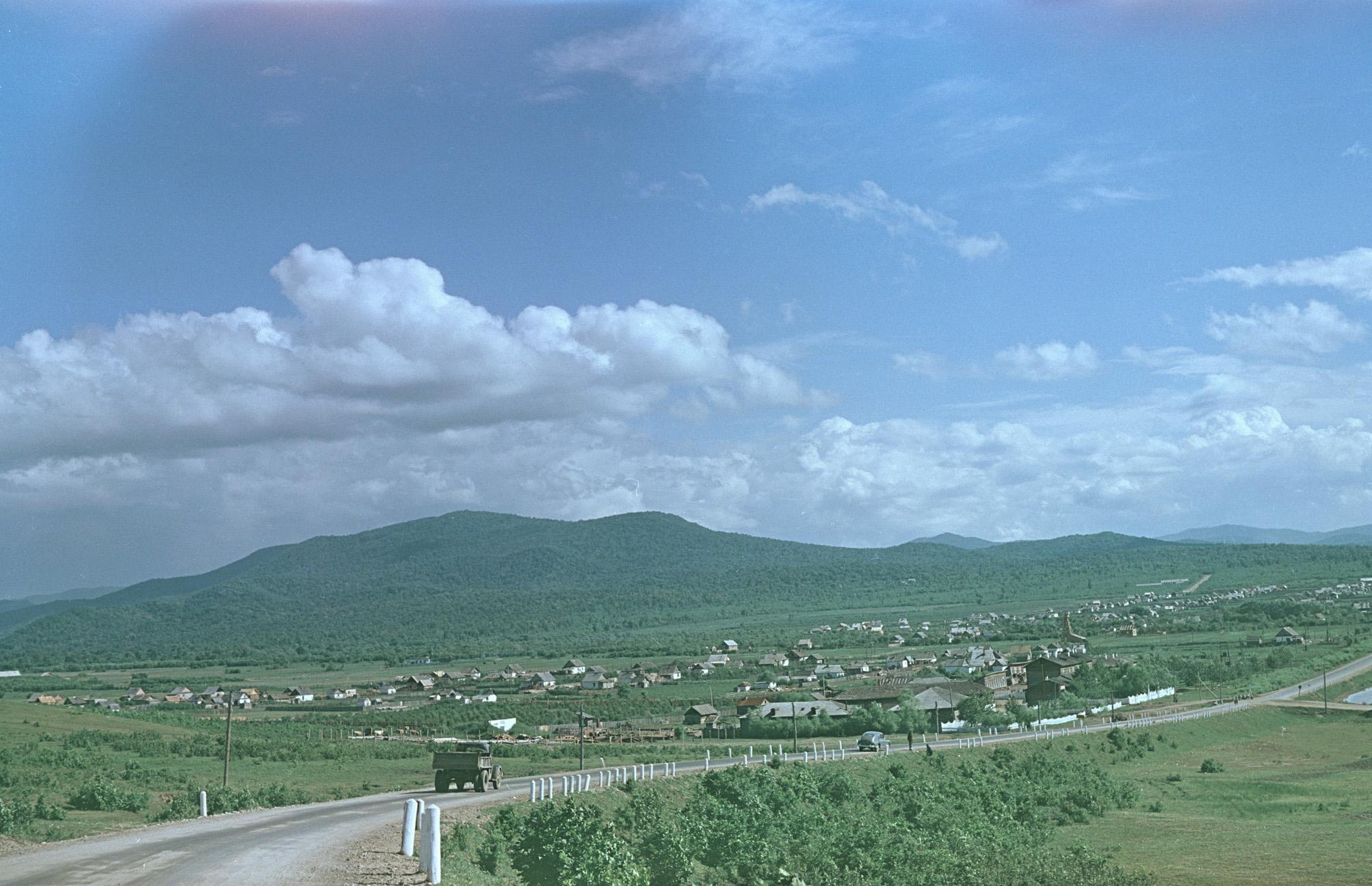 Dalnii Vostok, v'ezd v gorod Arseniev