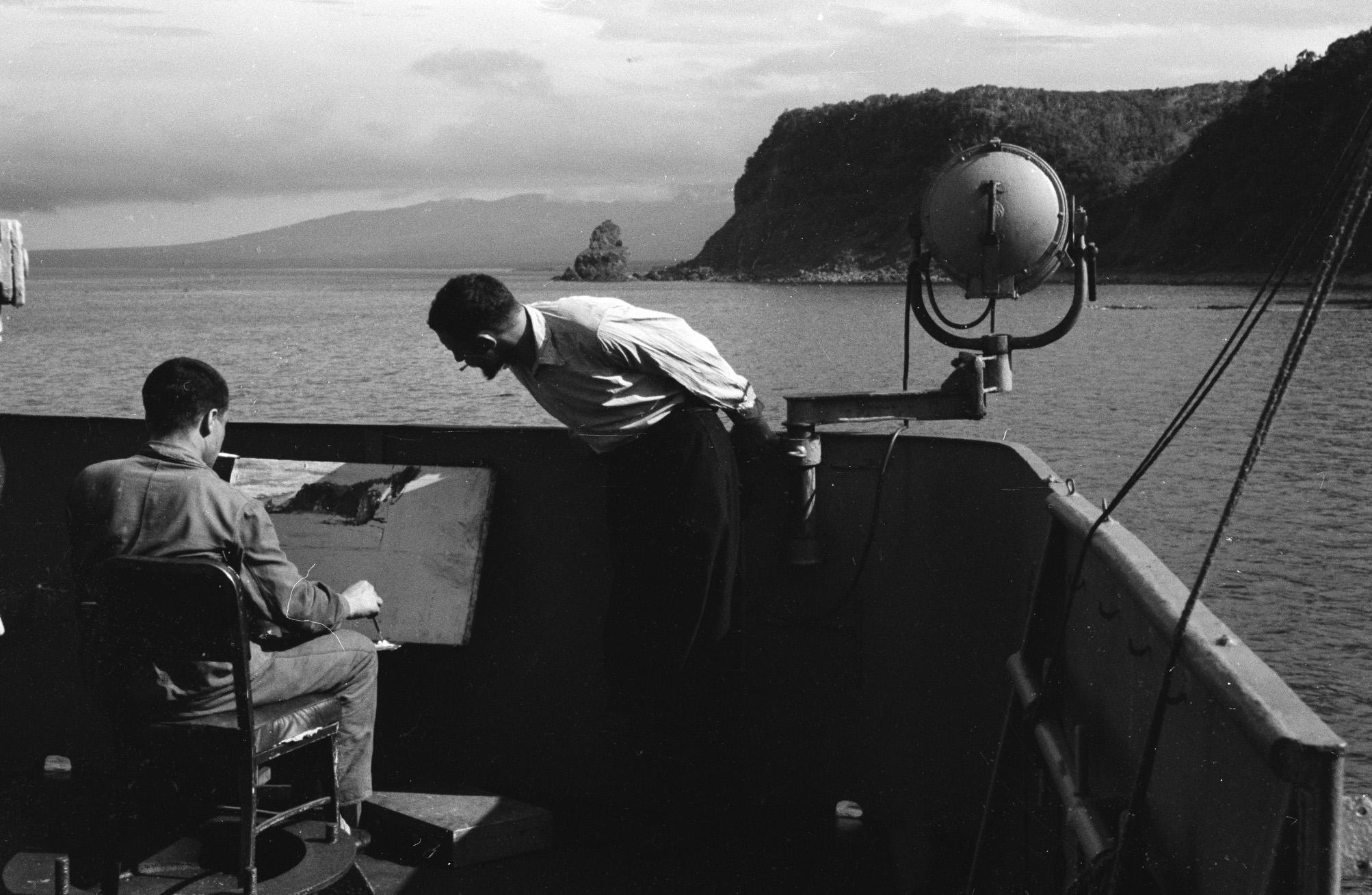 Dalnii Vostok, na kitoboitse, v svobodnii chas