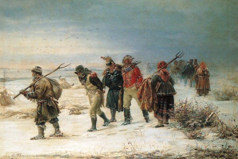 В 1812 году. Илларион Михайлович Прянишников