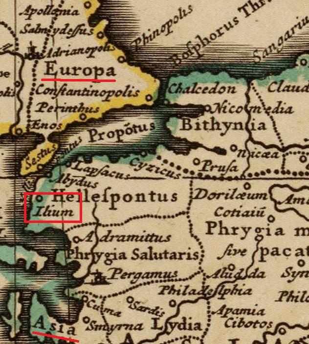 Composite  Imperii Romani  1742 Европа и Азия