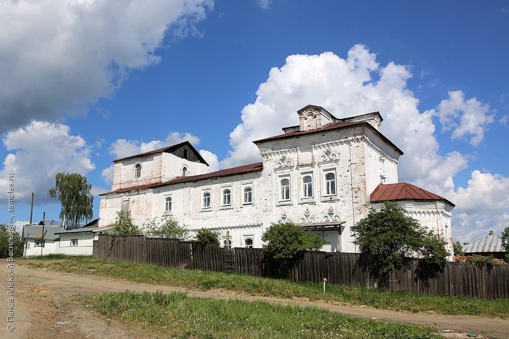 Богоявленская церковь в городе Чердынь