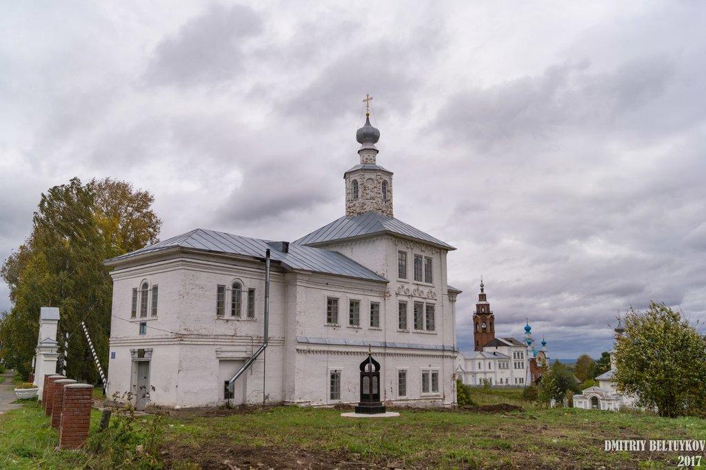 Церковь Успения Пресвятой Богородицы в Чердыни