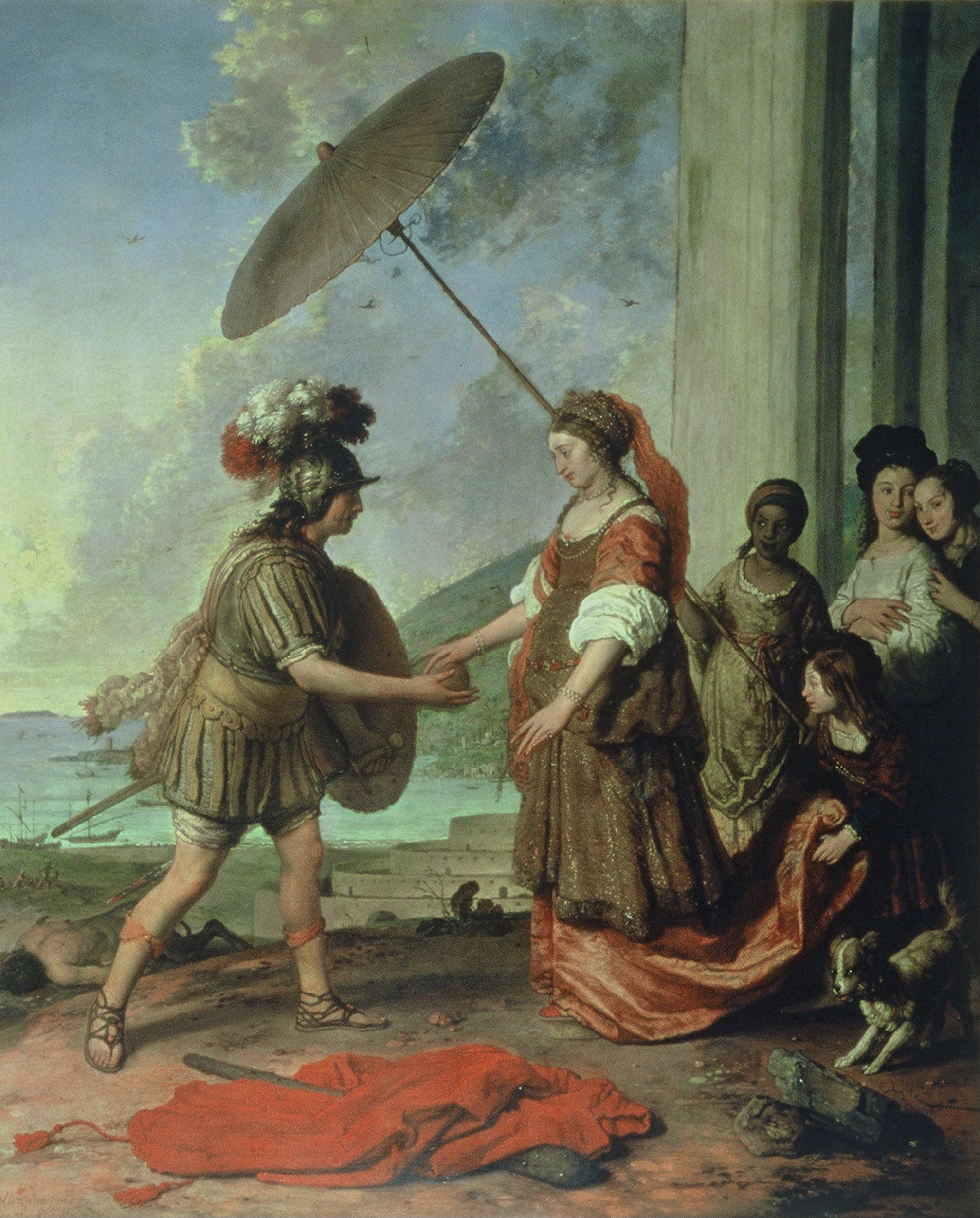 Виллем Cтрейкер. Тесей и Ариадна. 1657 год