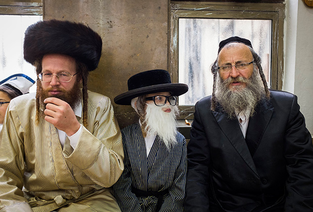 Пейсы у евреев