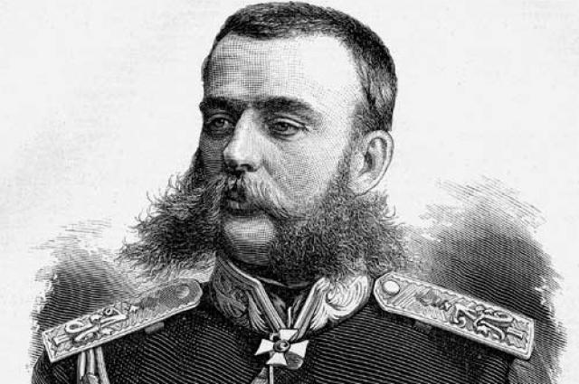 Скобелев, Михаил Дмитриевич. Гравюра I половина 1870-х гг