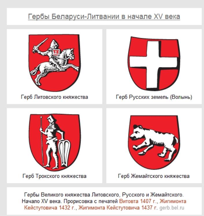 Гербы Литвы