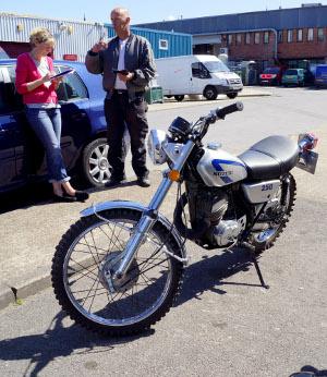 Suzuki TS250M: гость из прошлого