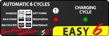 Индикаторы зарядного устройства BC Easy 6