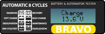ЖК-дисплей зарядного устройства BC Bravo