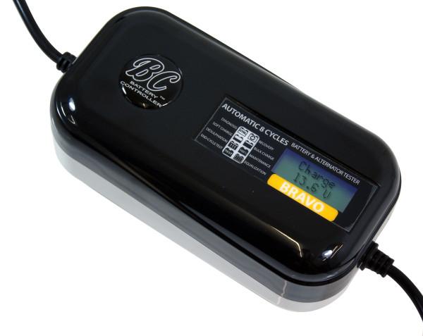 Автоматическое зарядное устройство BC Bravo с функцией диагностики генератора мотоцикла