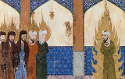 Medieval_Persian_manuscript_Muhammad_leads_Abraham_Moses_Jesus2