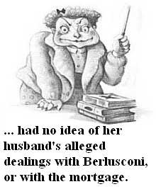 Dolorous indeed, Mrs Jowell
