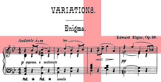 In p: mem: Edw: Elgar, armig: