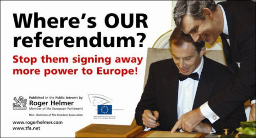 [We Want Our Referendum!]