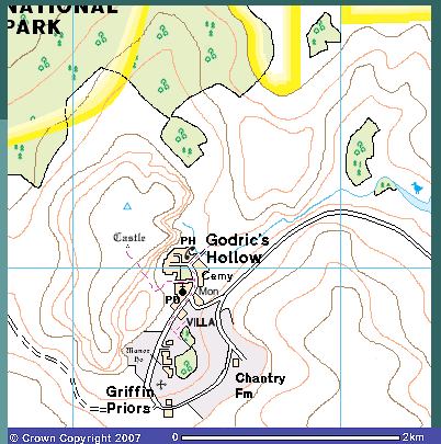 Godric's Hollow & District