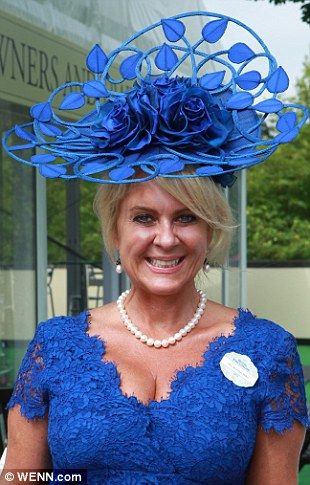 New Colour Sinamay Fascinator Hat Feather Navy Blue Hot